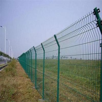 宏芬金属 边丝护栏网 波形护栏围挡  厂家