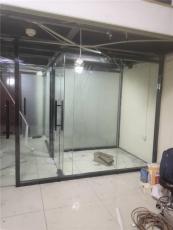 海淀區安裝玻璃隔斷安裝斷橋鋁玻璃隔斷