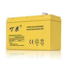 叮东蓄电池6-FM-10 12V10AH国标尺寸