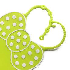 兒童硅膠圍嘴個性化硅膠圍兜母嬰用品