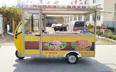 安丘二手电动餐车电动小吃车车低价格转让