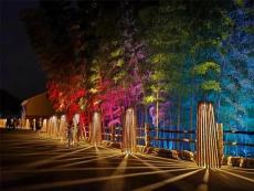 用创意灯光打造网红景区展示主体突出主题