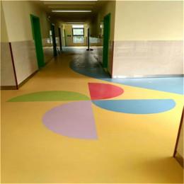 广安幼儿园地板 塑胶地板
