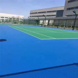 篮球场地塑胶厚度 运动塑胶地板