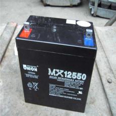 友聯蓄電池MX12650 12V65AH技術參數