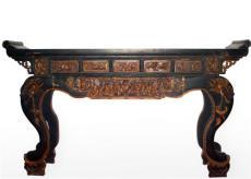 上海红木家具的翻新 佛像修补 木雕茶几类