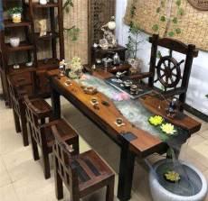 厦门红木茶桌回收长期上门收购