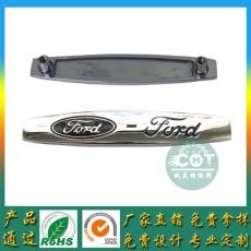 上海厂供应 福特脚垫铭牌定制锌合金商标牌