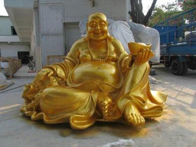 深圳佛像玻璃钢雕塑制作 佛像玻璃纤维厂家