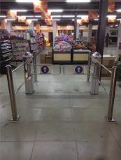超市入口智能感应摆闸
