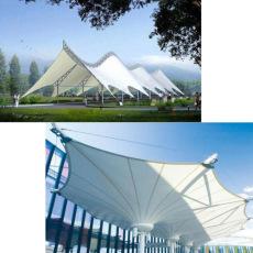 供青海海西遮陽膜結構及海東膜結構制造設計