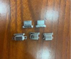 沉板TYPEC防水母座 8P 12P 16P 針腳SMT貼片