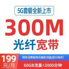 长沙电信宽带199融合套餐