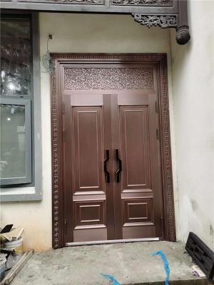 2021新款铜门 西安精品铜门厂家 渭南铜门