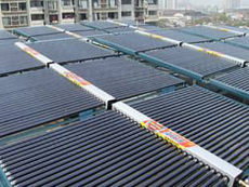 厂房太阳能热水工程