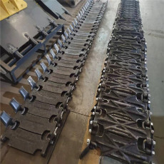 小松WA500-6裝載機輪胎保護鏈 50鏟車防滑鏈