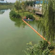 石泉水電站塑料攔污浮筒水庫閘口浮式攔污排