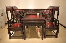 普陀區根雕茶桌補縫專業修理舊桌椅家具