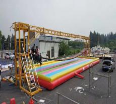 戶外水上過橋大型兒童搖擺網紅橋設備