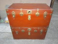 老師傅專業翻新古董30多年樟木箱專業經驗