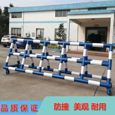定制3米/4米长防撞拒马围栏 活动式隔离铁马