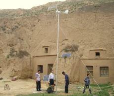 安全高效小型家用風力發電機300W500W定制