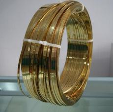 廠家現貨h59黃銅線 h62黃銅扁線 扁絲半圓線