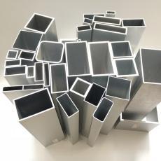 浙江直銷鋁型材鋁方管 鋁方排管鋁合金方管