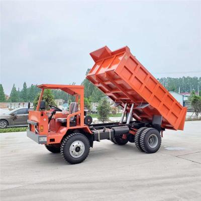 曲靖UQ-8吨的矿山自卸车