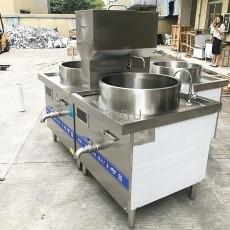 拉面館煮肉煮面組合爐 德茹600人食堂煲湯灶