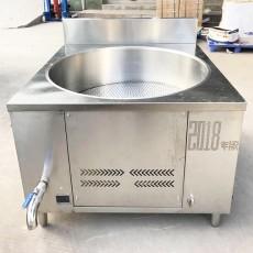 食品廠液化氣炸鍋巴機 德茹炸油豆腐豆泡機