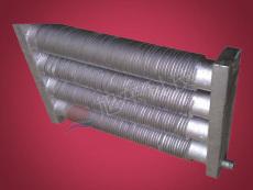 工業翅片散熱器水盒型彎頭型