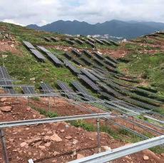 晶天光伏组件305W山区离网光伏电站太阳能板