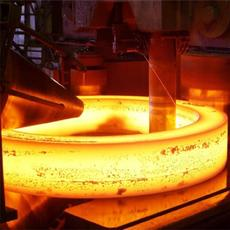 山東榮升大型齒輪鍛件自由環形鍛件輾環鍛造