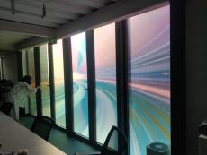 办公装饰贴膜定制橱窗灯箱贴Dior膜隔断贴膜