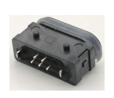 直插型MICRO 5PIN USB連接器 防水邁克母座