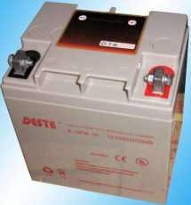 DESTE蓄電池6-GFM-12012V120AH儲能供貨商