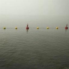 河灣船舶攔阻系統水電站禁航區攔船索安裝