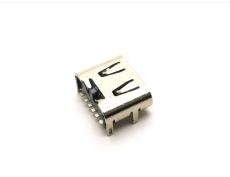 TYPE C母座6P type c母座簡易版單充電