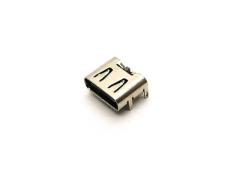 簡易型USB2.0 TYPE C單充電母座 四腳DIP 6P