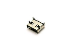 90度TYPE C母座 6P后貼 單充電子產品插座