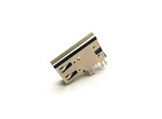 側立式TYPE C 6PIN母座 單充電簡易型大電流
