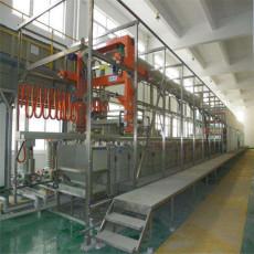 長寧大型電鍍廠設備流水線回收現場估價