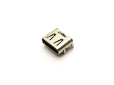 90度四腳DIP 單充電USB TYPE C母座 6PIN