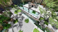 别墅庭院设计乡村别墅庭院景观设计中达装饰