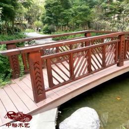 重慶小河面 小湖湖面景觀浮橋 拱橋設計制做