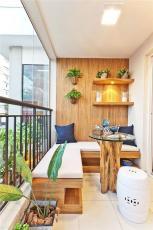 阳台露台设计精品展示张家界中达装饰