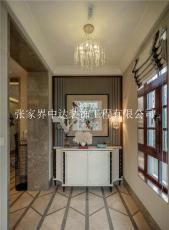 入户玄关如何设计张家界中达装饰玄关设计图