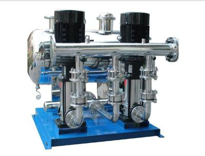 盐城建湖厂家供应无负压变频供水设备箱泵一