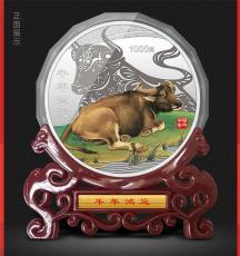 牛年鴻運1公斤紀念銀章